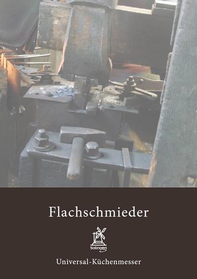 Prospekt Windmühlenmesser Flachschmieder
