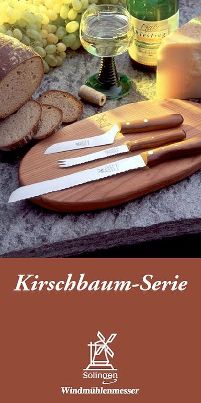 Prospekt Windmühlenmesser Kirschbaum-Serie