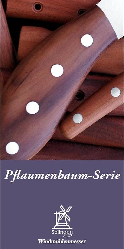 Prospekt Windmühlenmesser Pflaumen-Serie